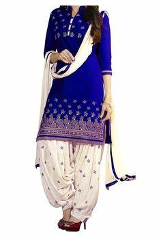Indian Designer Ethnic Printed Salwar Kameez