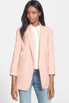 Equipment 'Kadley' Wool Blazer $ 364.78   Exclusive #Blazers for #women's on sale with discount, here is Blazers for women over sixty
