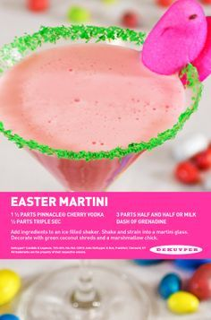 images about Easter Beverages Martinis