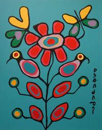 Norval Morrisseau - Indian Summer