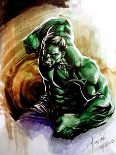 #Hulk #Fan #Art. (Hulk) By: Dikeruan. (THE * 5 * STÅR * ÅWARD * OF: * AW YEAH, IT'S MAJOR ÅWESOMENESS!!!™)