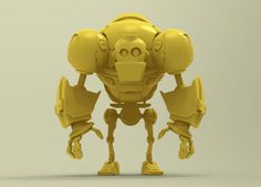 Iron Tiny by Shoulong Tian, via Behance