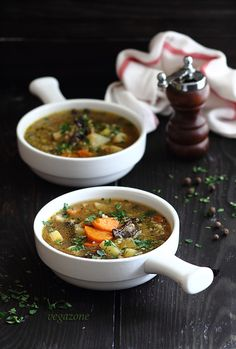 Veg Barley Soup | Vegazone