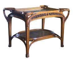 Gruber : au firmament de l'Art Nouveau « Lorraine Magazine Art Nouveau Furniture, Fine Furniture, Wood Furniture, L'art Du Vitrail, Salon Art, Aesthetic Movement, Victorian Art, Decorative Objects, Architecture