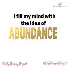 Affirm Yourself daily. Write the affirmation below #mymoneymogul #moneymogul