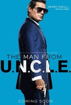 Guy Ritchie's THE MAN FROM U.N.C.L.E. #ManFromUNCLE #HenryCavill #ArmieHammer #HughGrant #AliciaVikander #ElizabethDebicki #GuyRitchie