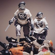 3ALegion feature: recently shipped 3AGO | Tomorrow Kings: Interlopers on top of other 3AGO TKs, photographed by Jerald Ang (https://www.facebook.com/jerald.ang). #threeA #AshleyWood #WorldOf3A #WO3A #3AGO #Popbot #TomorrowKings #3ALegion