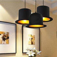 $24.95 (Buy here: https://alitems.com/g/1e8d114494ebda23ff8b16525dc3e8/?i=5&ulp=https%3A%2F%2Fwww.aliexpress.com%2Fitem%2FHot-sale-110v-220v-Top-Hat-Pendant-Lights-aluminum-Hat-light-for-Kitchen-D26cm-H17cm-Creative%2F32694163710.html ) Hot sale 110v/220v Top Hat Pendant Lights aluminum Hat light for Kitchen D26cm*H17cm Creative Pendant Lamp for Coffee shop Bar for just $24.95