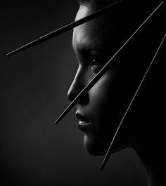 """""""Leather"""" Make up by Masha Shurygina. S)"""