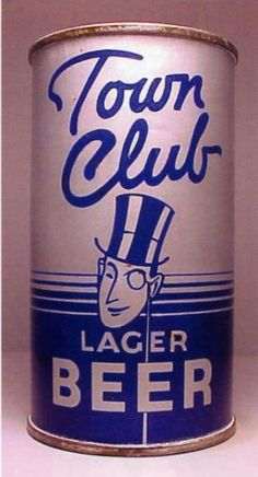 Town Club Lager Beer , Vancouver, WA - Star Brewing Co ~ 1940's