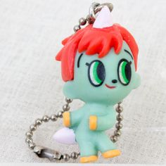 Unico Mascot Figure Ball Chain Tezuka Osamu JAPAN ANIME #Cocacola