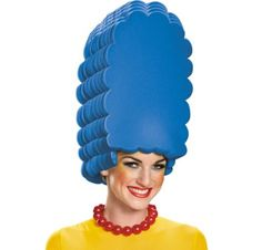 Marge Simpson Wig 10in x 16in - The Simpsons - Party City