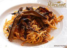 Spaghetti alla norma Da Marcone - trattoria conviviale
