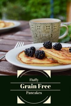 fluffy grain free pancakes
