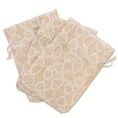 20 Lace Burlap Cute Gift Party Favor Fabric Birthday Treat Goody Bag - Beige/White #burlapweddings Goodie Bags, Gift Bags, Birthday Treats, Rustic Theme, Walmart Shopping, Cute Gifts, Party Favors, Burlap Weddings, Goodies