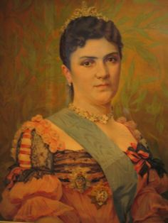 Queen Draga Obrenovic of Serbia