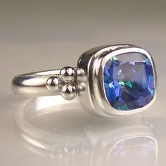 Mystic Topaz Ring in Sterling