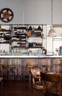 Restaurant - Rustic & Industrial style!