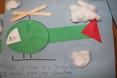 I taught shapes with this activity during the letter H week for Helicopter.