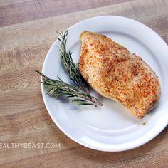 HONEY MUSTARD CHICKEN – SO EASY! | The Healthy Beast