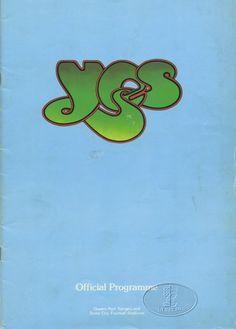 Yes: 1975 UK Tour Program
