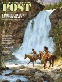 September/October 2015 issue. On the cover: Crossing Below the Falls by Howard Terpning © Terpning Family Limited Partnership, LLC, Courtesy of the Greenwich Workshop®, Inc.  Here's what you'll find inside the issue: www.saturdayeveningpost.com/current-issue