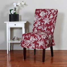 Ballad Bouquet Long Dining Room Chair Slipcovers