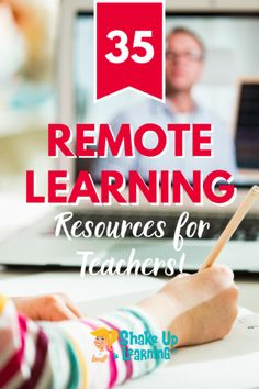Check out this post to learn all about these 35 remote learning and distance learning resources for teachers! | shakeuplearning.com Creative Teaching, Teaching Tools, Student Teaching, Learning Resources, Teacher Resources, Classroom Resources, Jobs For Former Teachers, Teaching English Online, Online Tutoring