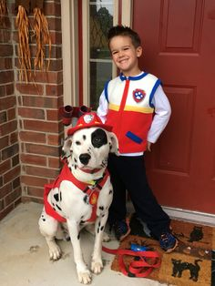 Ryder and Marshall from Paw Patrol Paw Patrol Costume