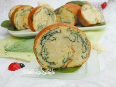 Aleda konyhája: Spenotos-sajtos-tekercs
