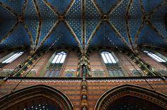 St. Mary's Basilica, Krakow #Mehoffer #Wyspianski
