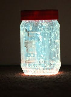 Fairies in a Jar or Glow in the Dark Jar - A Moment in our World
