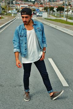 Street style #fashion #style #menswear | More outfits like this on the Stylekick app! Download at http://app.stylekick.com