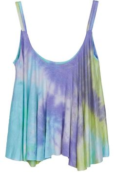 ROMWE   Colorful Sky Print Camisole Vest, The Latest Street Fashion