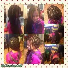 Style: Box Braids (Large) Client's Hair Type: 3b/3c  Hair Added: Zury, Like Hair Braid (2bags) Products Used: Coiled! by Conscious Coils (Original Refresher Spray) Time: 3hrs 47mins (includes time removing braids) Style Duration: 1-2months