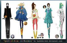 Spirited Away on Runway by Sashiiko-Anti on deviantART