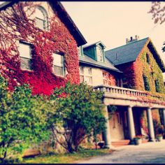 Jennings, the music building on Bennington College campus. <3