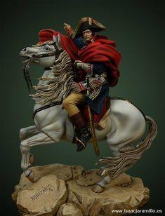 Napoleon Bonaparte crossing the Alps 90 mm Pegaso Models