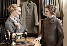 beautifully tailored tweed clothes