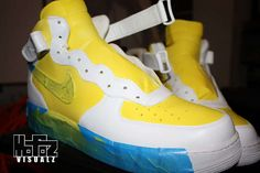 How to custom paint sneakers