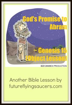 God's Promise to Abram ~ Genesis 15 (Object Lesson)
