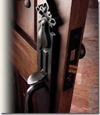 door bolt plate u new york with keyhole double dummy deco door