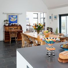 Dining room | Eco self-build home | Ideal Home | Ideal Home
