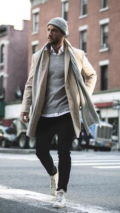 Men winter fashion 389913280241146240 - 5 Street Ready Winter Outfits For Men Source by Winter Outfits For Teen Girls, Simple Winter Outfits, Winter Outfits For Work, Winter Fashion Outfits, Outfits Casual, Mode Outfits, Mode Masculine, Stylish Men, Men Casual