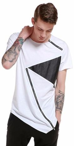 f039d559eb4c Men s Fashion Slim Fit Short Sleeve. Trending Now FashionMens TeesSlim