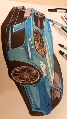 #marker #drawing #car #industrialdesign
