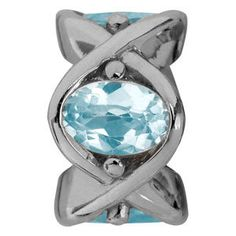 Endless Jewelry Sky Topaz Heaven Blau Silber Element #endless #blau