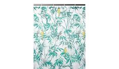 Bird & Leaf Fabric Shower Curtain, read reviews and buy online at George at ASDA. Shop from our latest range in Home & Garden. Turn your shower into an exoti...