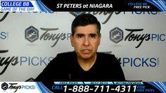 St Peters vs. Niagara Free NCAA Basketball Picks and Predictions 2/24/17
