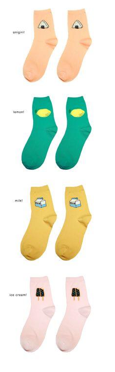 I love Food Socks - INU INU